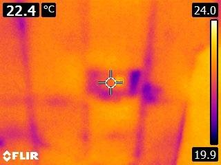 A recent infrared thermal imaging surveys job in the area